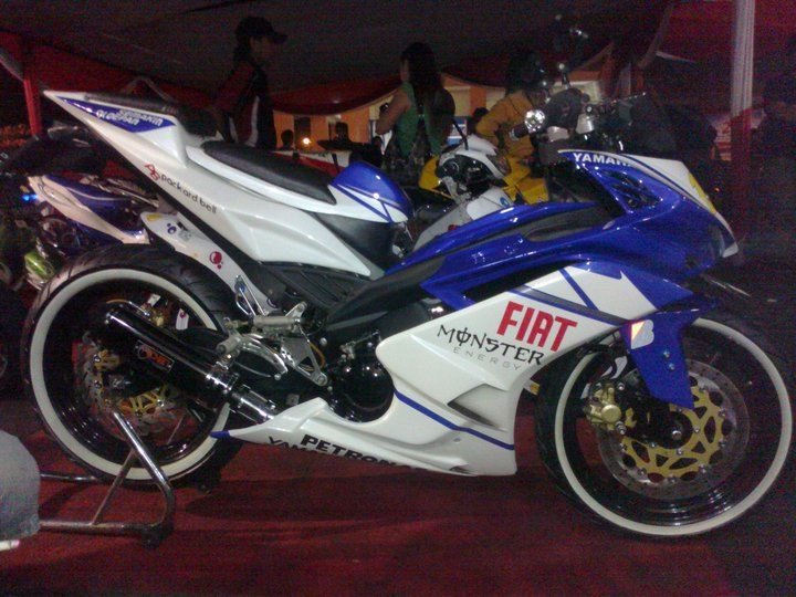 Modifikasi Jupiter Mx Cw 2013