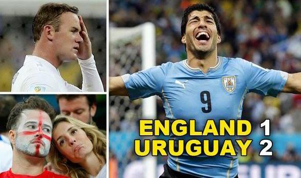Pulang Kampung The Three Lion : Inggris Kalah 1-2 dari Uruguay