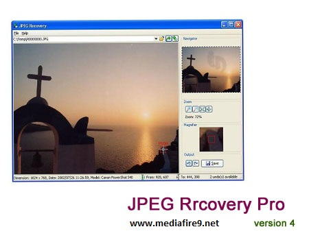 Jpeg recovery pro скачать - jpeg recovery pro 4 0.
