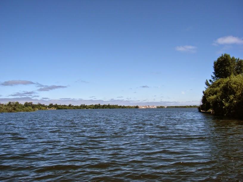 Rio Tejo em Escaroupim