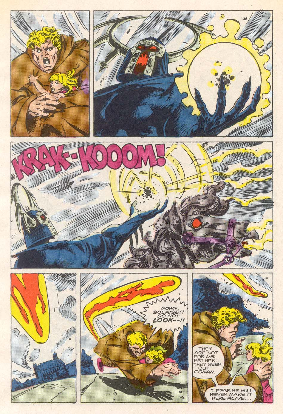 Conan the Barbarian (1970) Issue #193 #205 - English 13