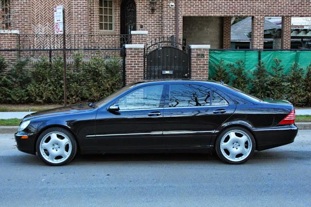 2004 mercedes s class