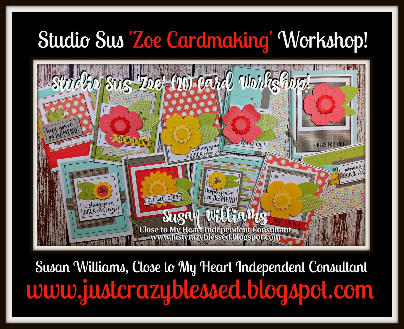 'Zoe' Cardmaking Workshop!