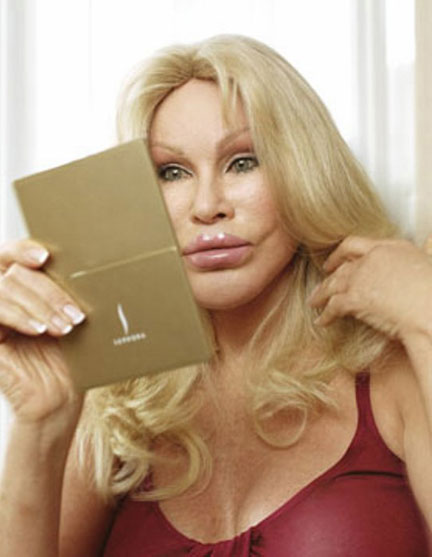 Jocelyn Wildenstein Face