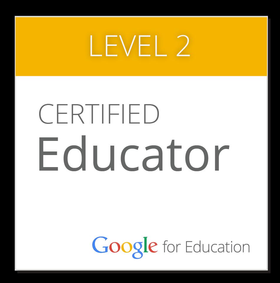 Level II Google Certified Educator