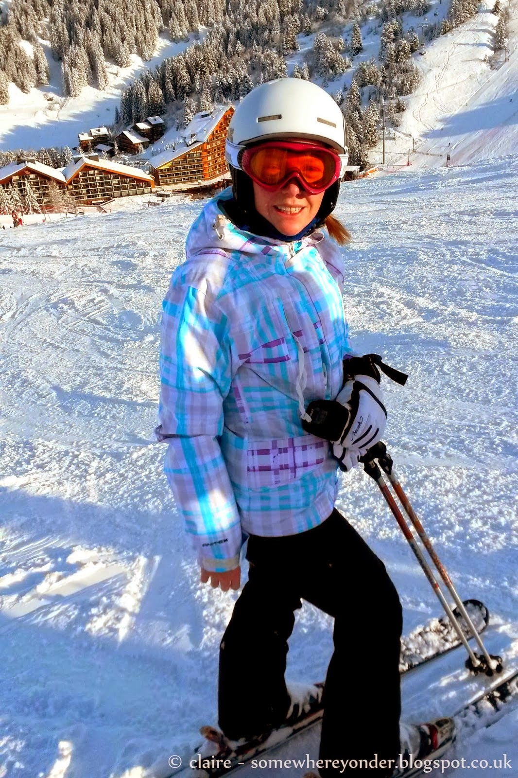 on the slopes - Christmas 2013 - Val Thorens, France