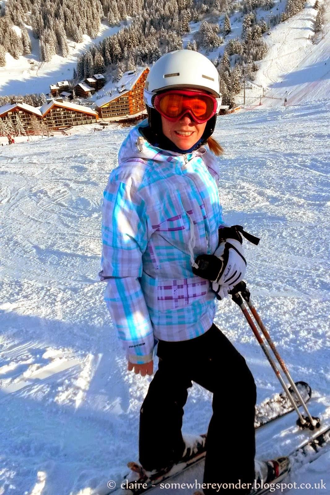 on the slopes - Christmas 2013 - Val Thorens, France