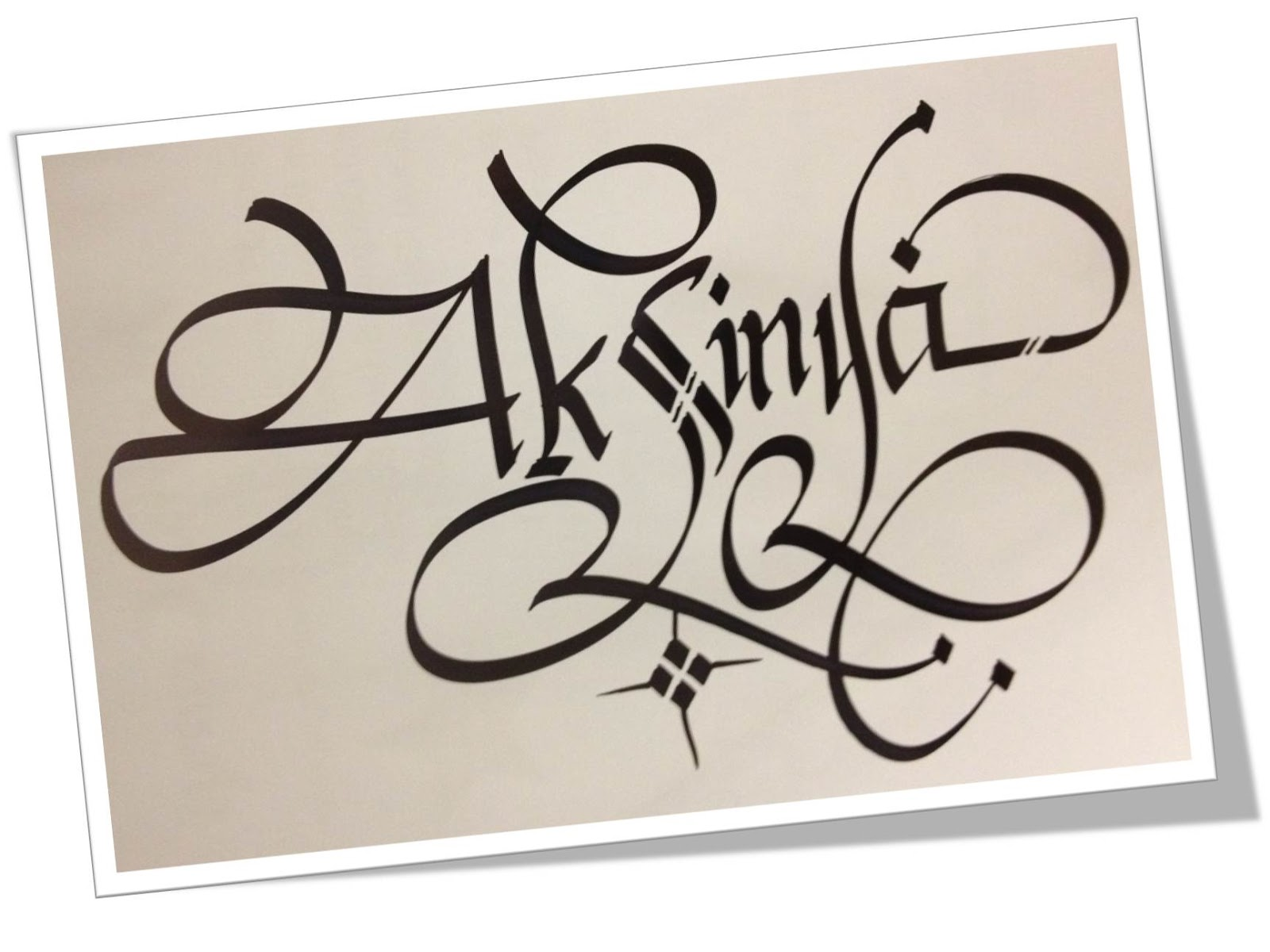 Calligraphy art russian names in calligraphy aksinya My name in calligraphy