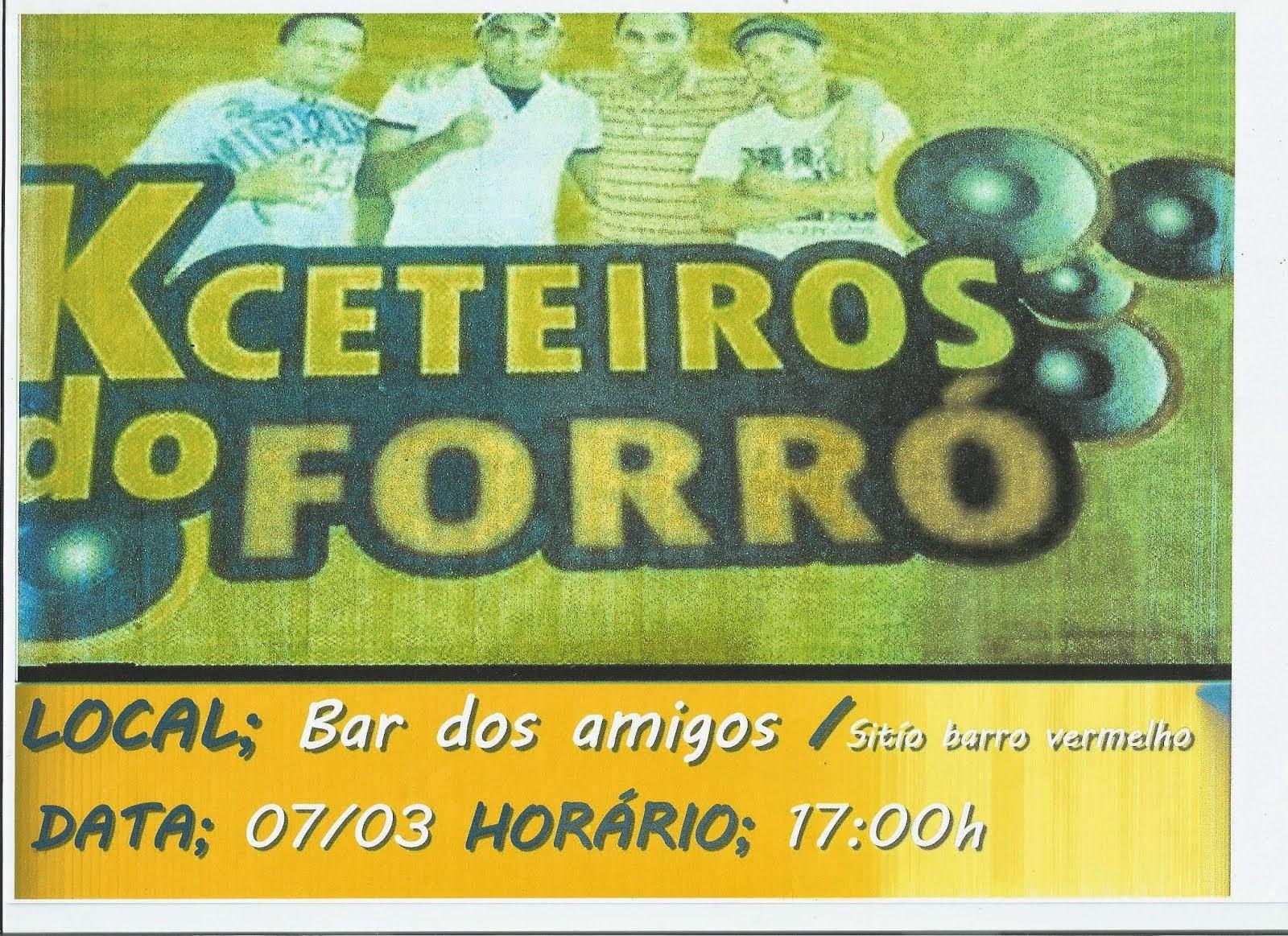 FESTA NO SÍTIO BARRO VERMELHO EM MULUNGU/PB. DIA, 07/03/15. A PARTIR DAS 17:00H