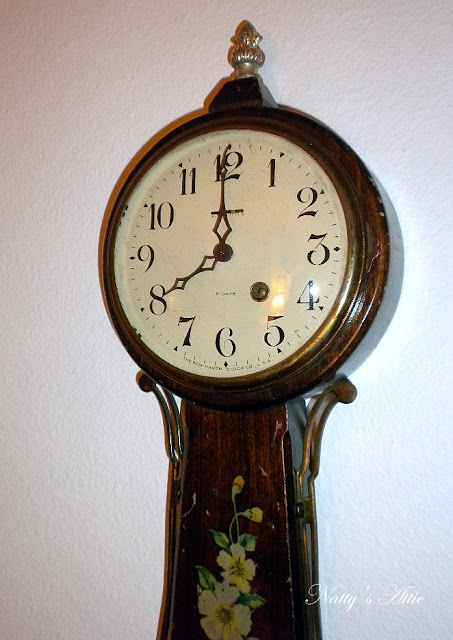 natty 39 s attic antique new haven wall clock made in usa