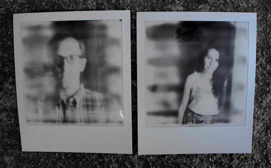 Sample photos taken with Polaroid SX-70 and Impossible Project film