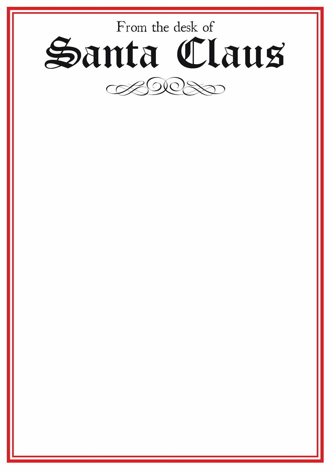 little mummy magic: Free Santa letter template