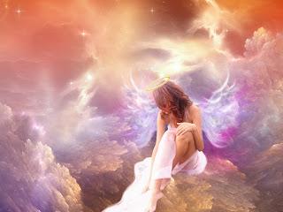 imagenes de angeles de amor