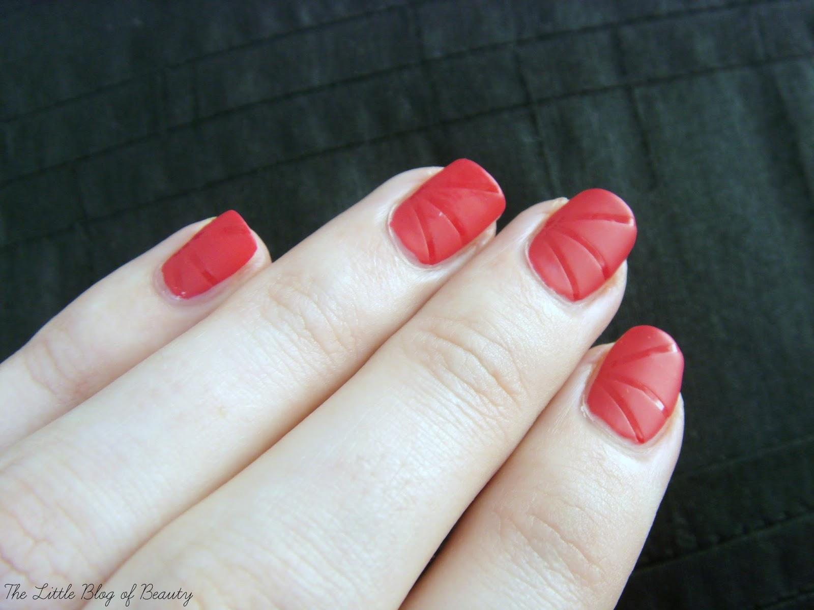 Nail art - Laser nails