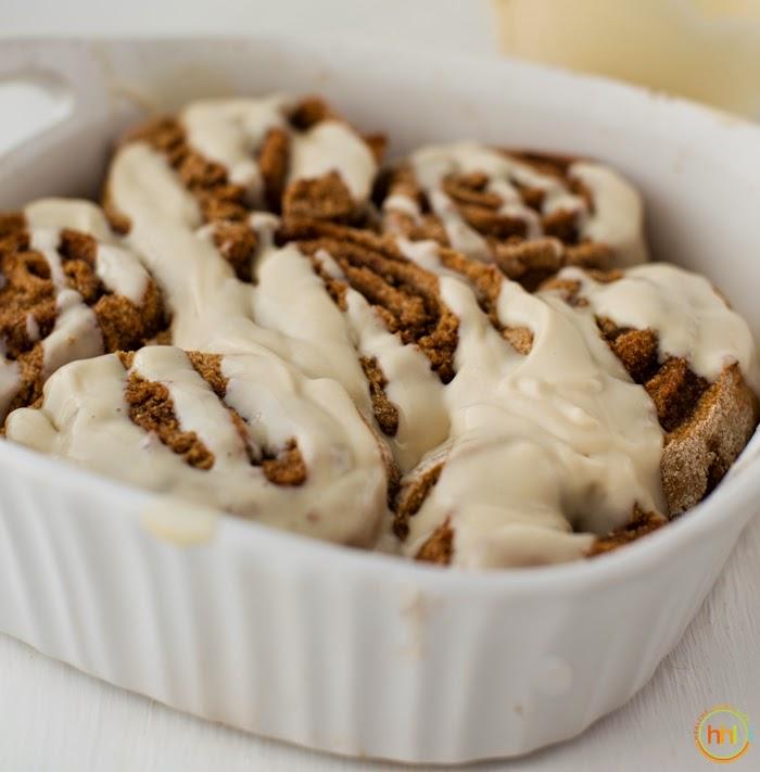 Easy Yeast-Free Vegan Cinnamon Rolls