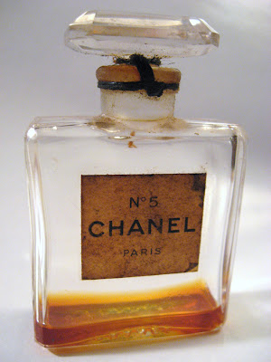 Original 1950s Chanel Number 5 Perfume Bottle
