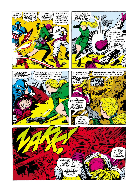 Captain America (1968) Issue #100 #14 - English 11