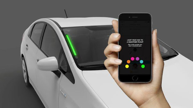 Uber Color Coding ensures Seamless Pickup at crowded place