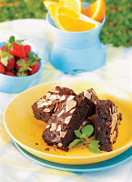 Resep Brownies Coklat Almond