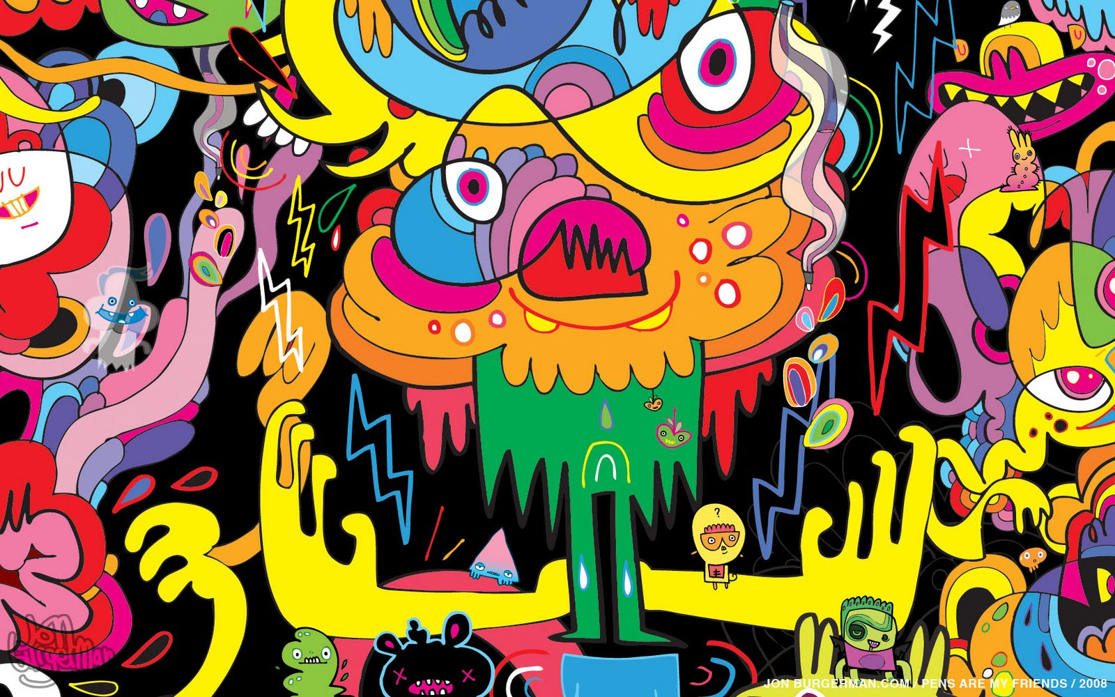 kirart art research jon burgerman