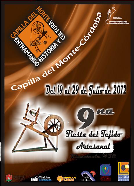 Fiesta del tejido artesanal en Capilla