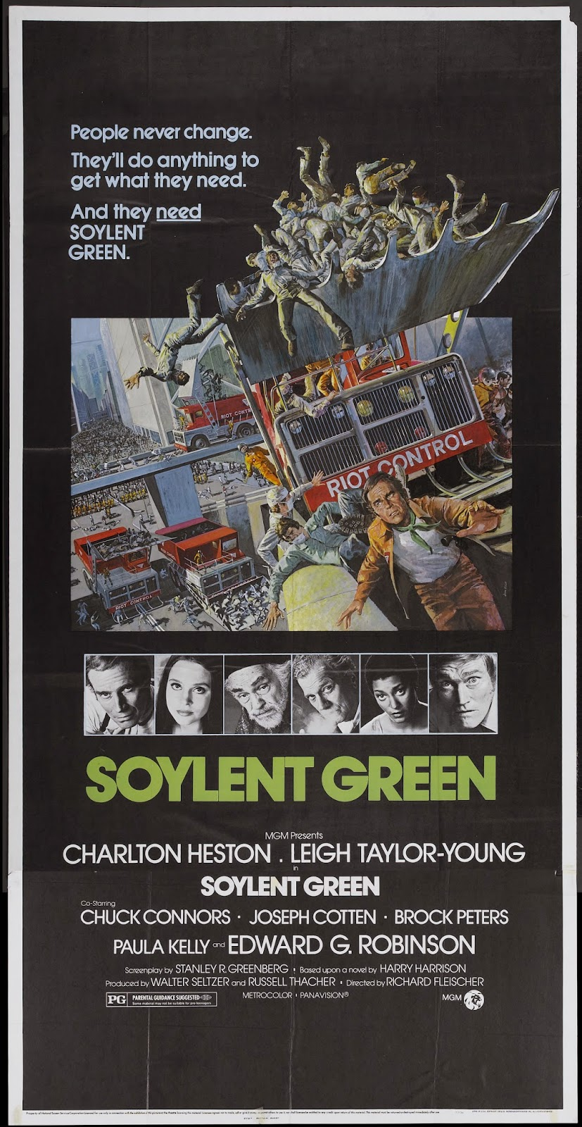 Happyotter soylent green 1973 for Soylent green is people