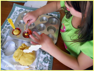 corn meal play dough