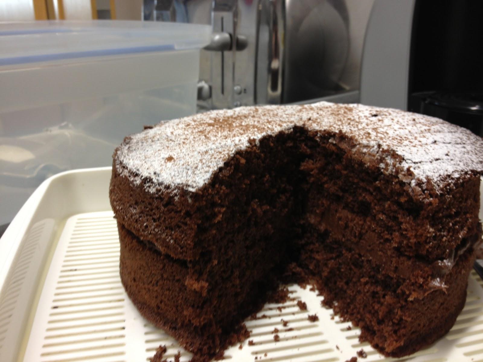 How To Make Victoria Sponge Into Chocolate Cake