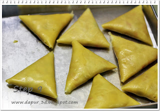 dapur 3d step by step cara membuat risoles bentuk segitiga