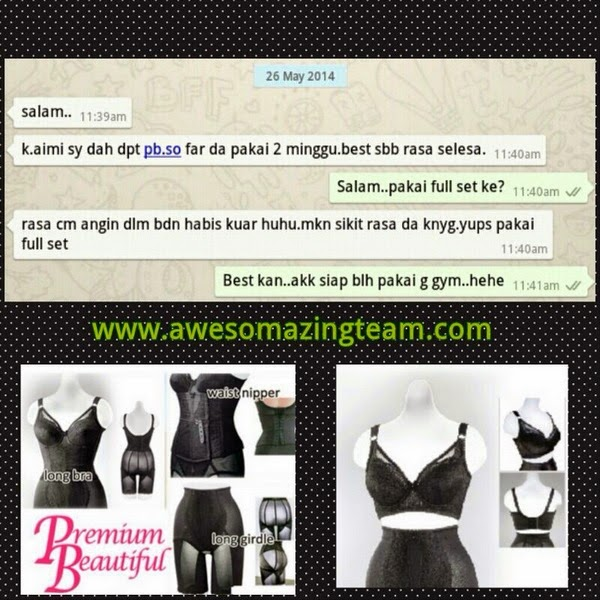 special promotion premium beautiful corset during ramadhan