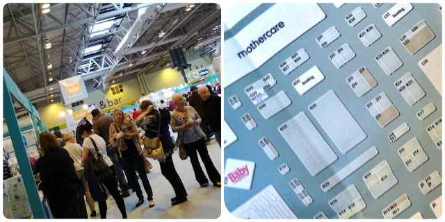 Visiting the Baby Show NEC Birmingham 2013 and Floor Plan