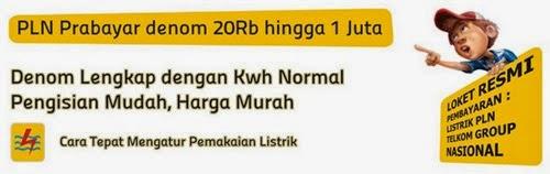 Transaksi Token Pln Bintang Jaya Reload