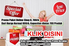 Promo - Jasa Buat Toko Online