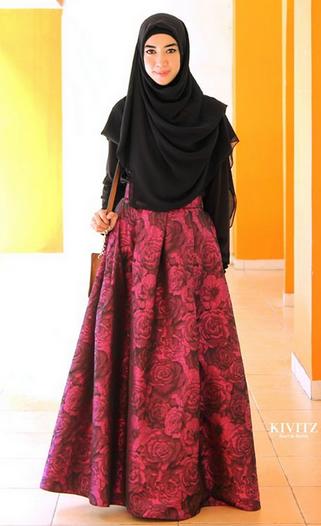 10 Model Busana Muslim Wanita Terbaru Yang Paling Nge Hits