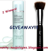 Giveaway by vanity no apologies!!!!!