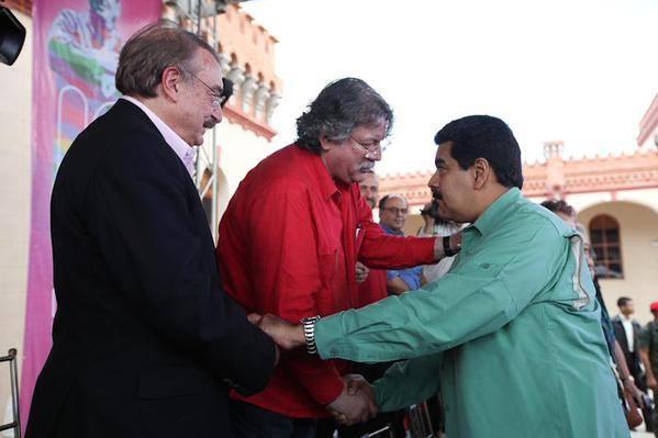 Conversando con Nicolás Maduro e Ignacio Ramonet