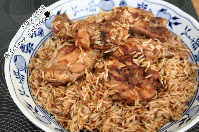 Heavenly Palate Afghani Chicken Pulao National Rice Dish Of