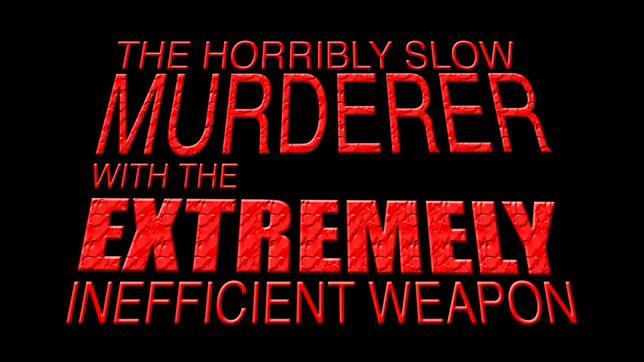 Фейковый трейлер: Ужасно медленный убийца с крайне неэффективным оружием