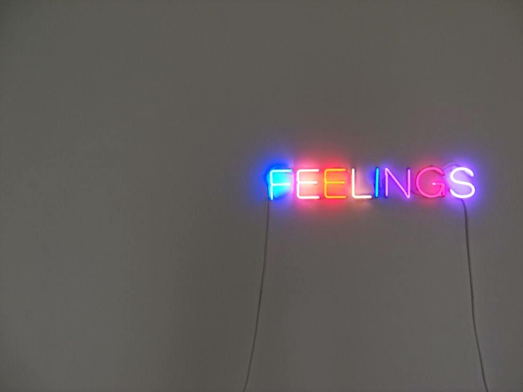 Rètol de neons de colors