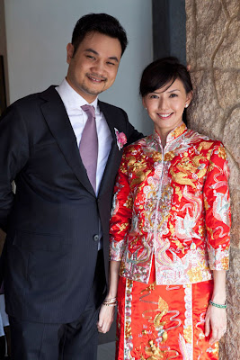 Sun Yan Zi wedding pics