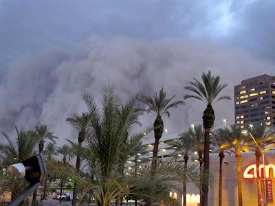 Tormenta de arena en Phoenix