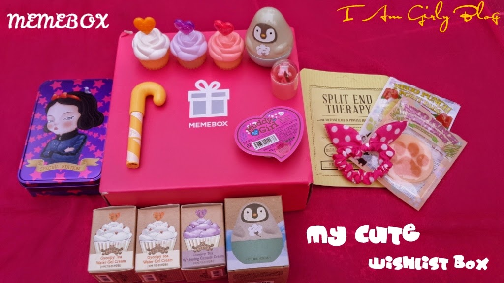 Memebox Superbox #41 My Cute Wishlist Review and Unboxing