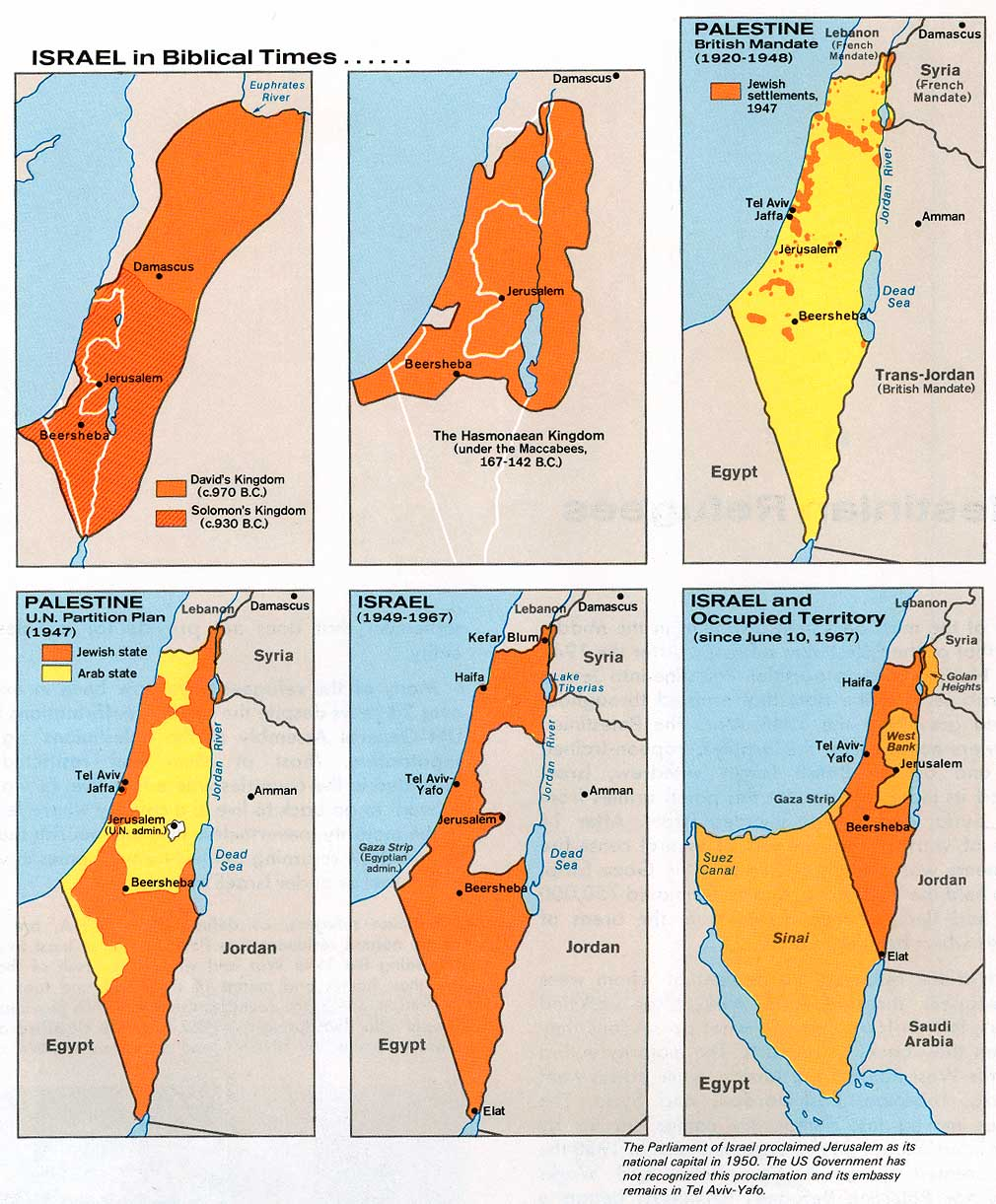 Israel Historical Maps