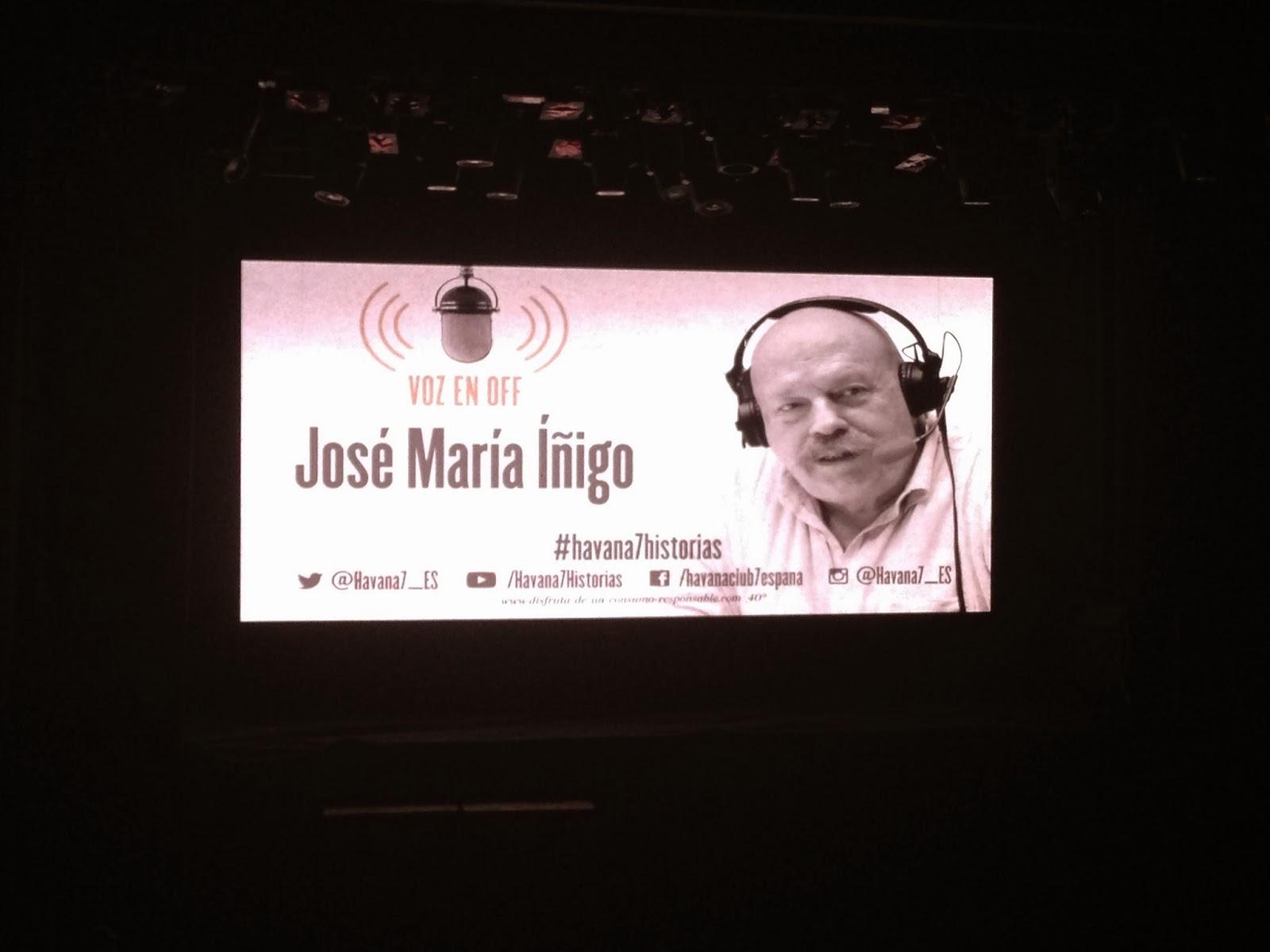 La voz en off de José María Íñigo nos dio la bienvenida al nuevo encuentro