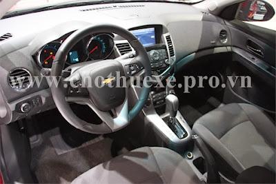 Cho thuê xe 4 chỗ Chevrolet Cruze