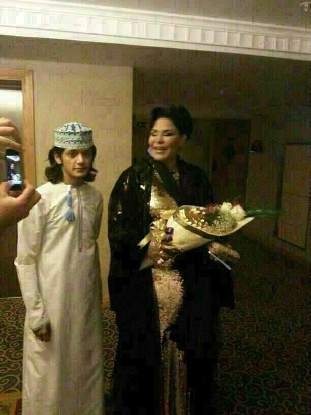 Oman Coast: Famous Emirati Singer Ahlam in Salalah Performing at ...