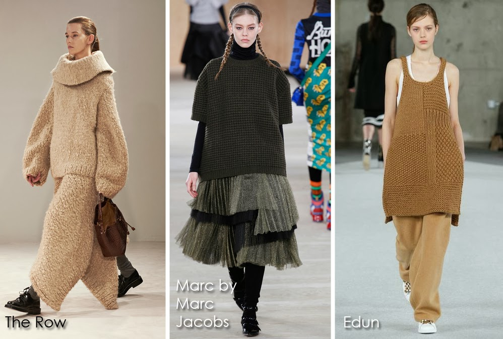 Inspected Trend: Chunky Knits from Fall 2014 The Row, Marc by Marc Jacobs, Edun