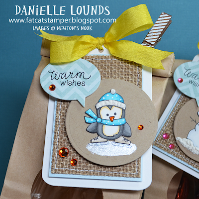 Penguin Tag by Danielle Lounds for Newton's Nook Designs!