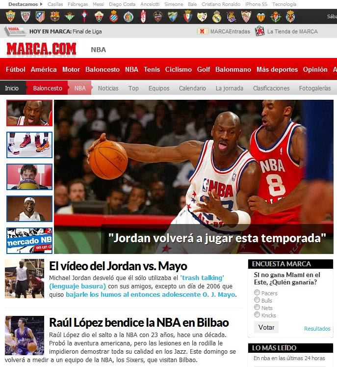 LA NBA EN MARCA