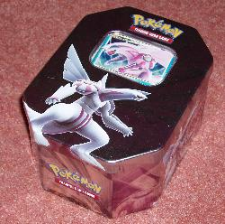 Pokemon card tin.